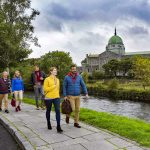 Galway Cathedral, Delegates walking byFailte IrelandBusiness Tourism ProjectGalway