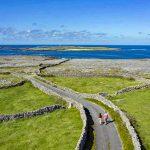Walking on Inishmore, Aran Islands, County Galway