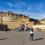 Edinburgh Castle esplanade