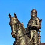 Robert the Bruce Statue at the Battle of Bannockburn Visitor Centre