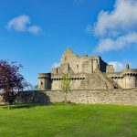 Craigmillar Castle which Mary Queen of Scots famously used as a safe haven in 1566.