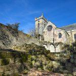 Culross Abbey in the Royal Burgh of Culross