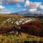Clifden , Connemara, The Twelve Pins, The Twelve Bens, Connemara, Co. Galway.