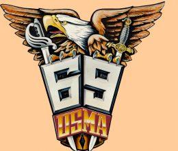 1969 crest color AOG RED TRAN SMALL ORANGE
